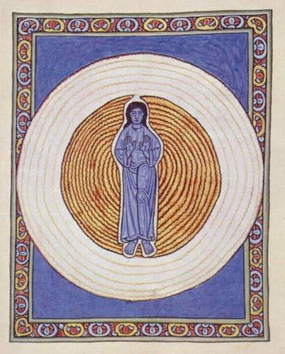 Hildegard Man in Sapphire Blue