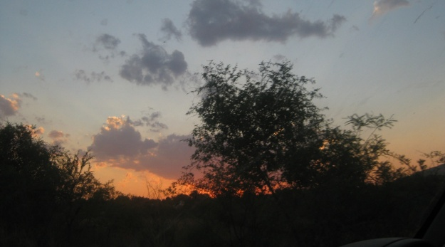 Sunset in Pilansberg
