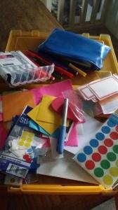 My bridge building materials