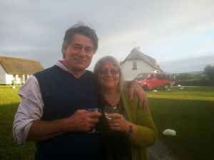 David Whyte and I in Ballyvaughan June 2013